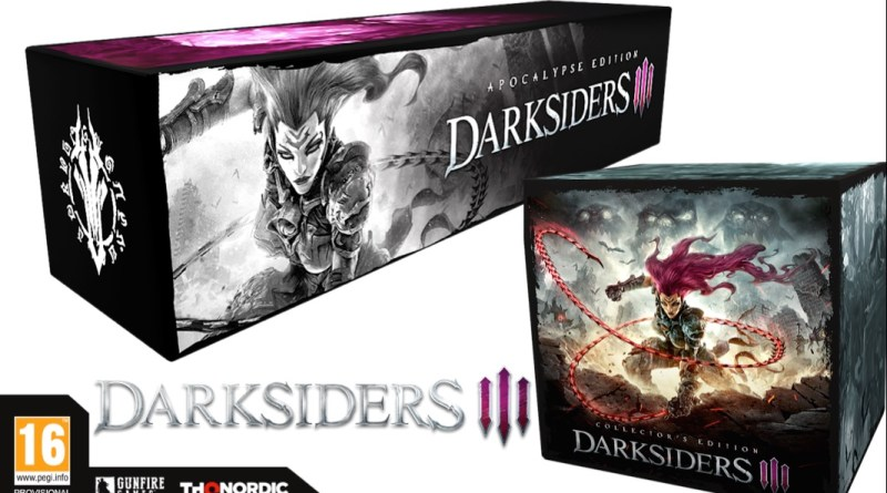 Darksiders III editions collector apocalypse