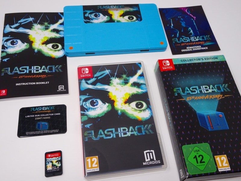 unboxing flashback switch collector