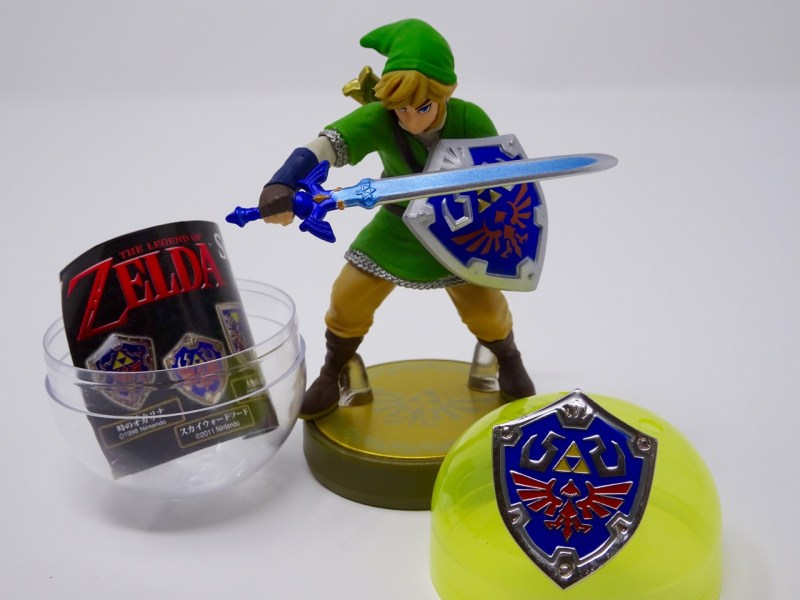 Pins bouclier Zelda Swkyward Sword