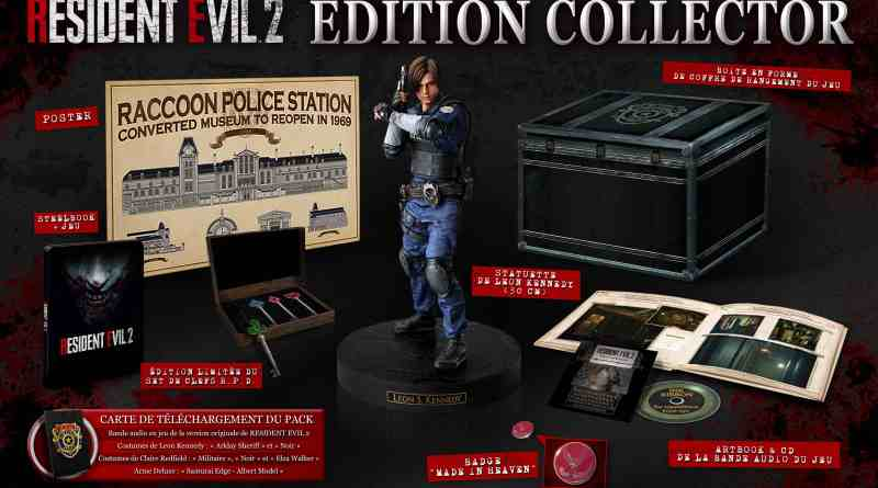 Resident Evil 2 - Edition Collector Limitée