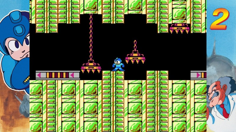 Test Mega Man Legacy Collection