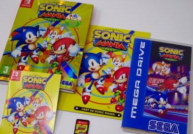 Test Sonic Mania Plus Switch
