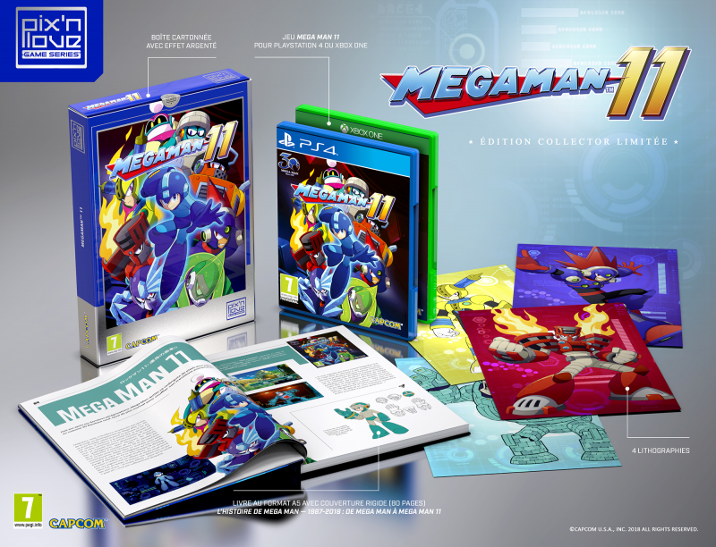 mega man 11 edition collector