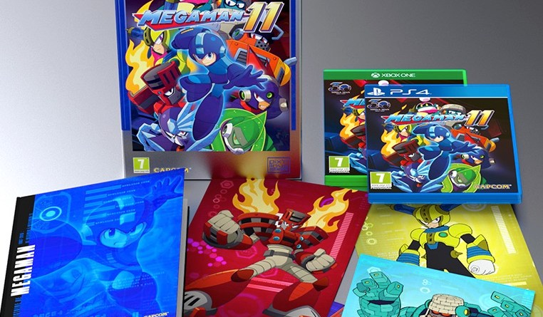 mega man 11 collector Pix'n love