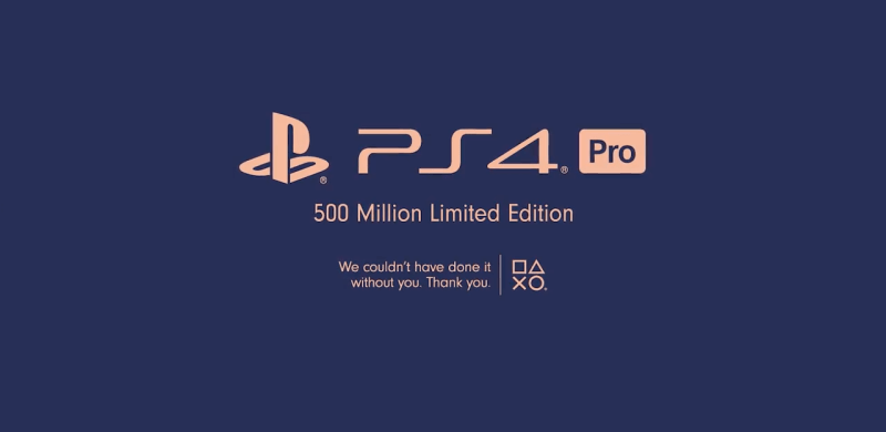 unboxing PS4 pro 500 millions limited edition