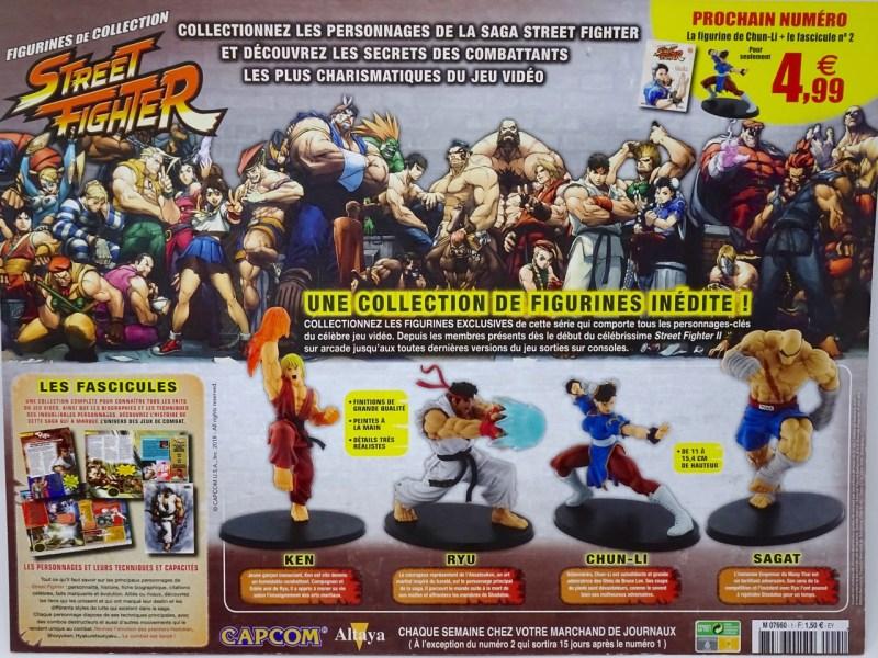 Figurines de collection Street Fighter Altaya