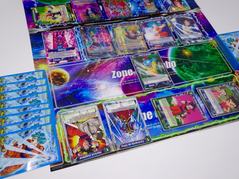 cartes à collectionner dragon ball super