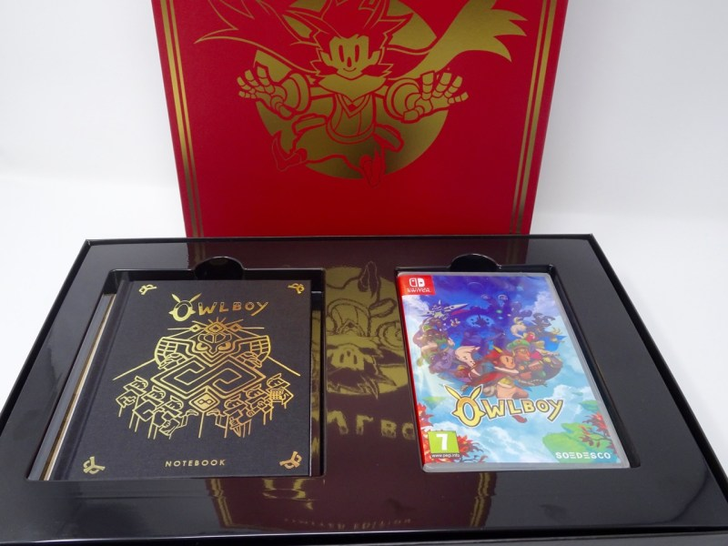 Unboxing Collector Owlboy Edition limitée