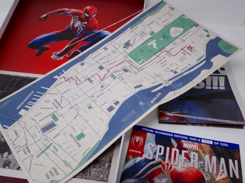 Unboxing Presskit Spiderman PS4