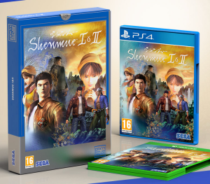 Shenmue I & II collector pix'n love