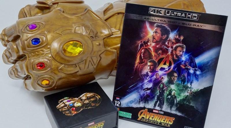 Test Avengers Infinity War Bluray 4K Ultra HD