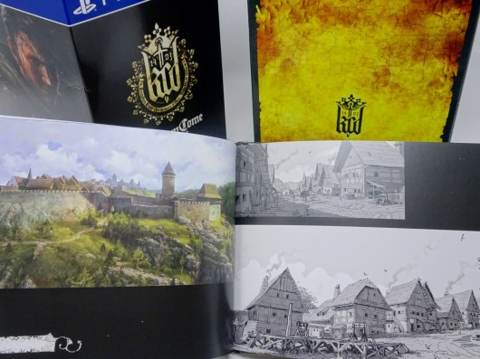 Unboxing Collector Kingdom Come Deliverance PS4