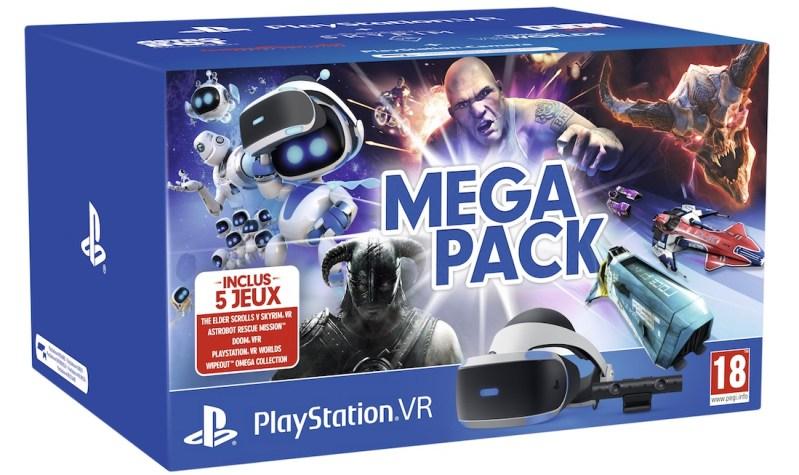 mega pack PS VR