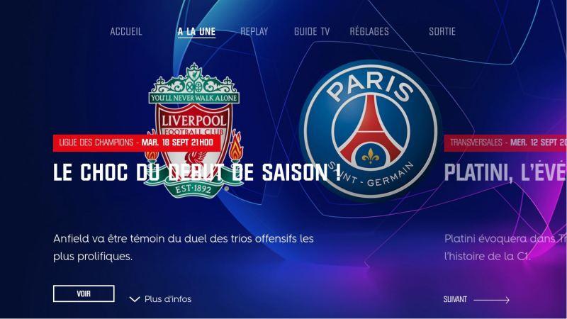 screen PS4 RMC Sport