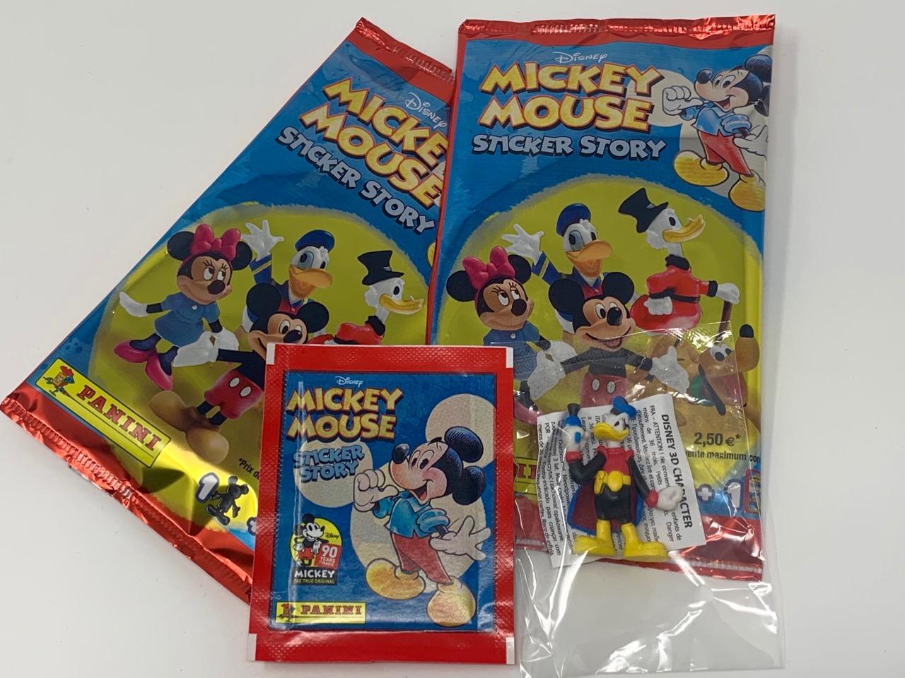 90 ans Mickey Panini Autocollant 1-Disney
