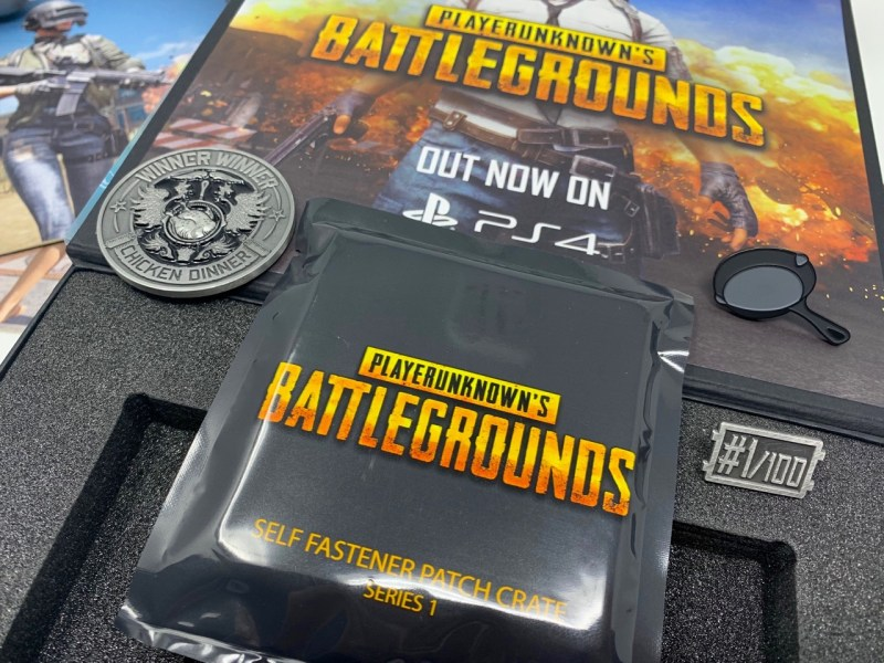 Unboxing Presskit PUBG PS4