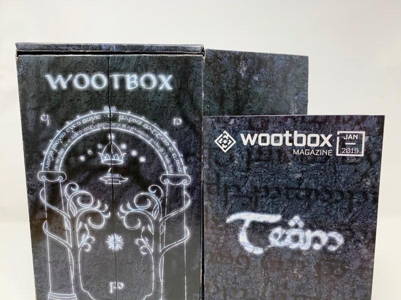 Unboxing Wootbox Janvier 2019