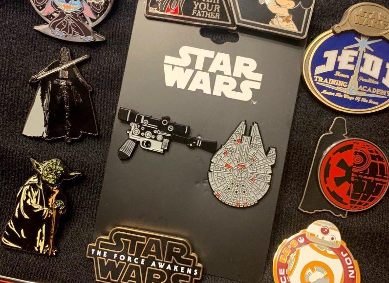nouveaux pin's Han Solo collector - 3