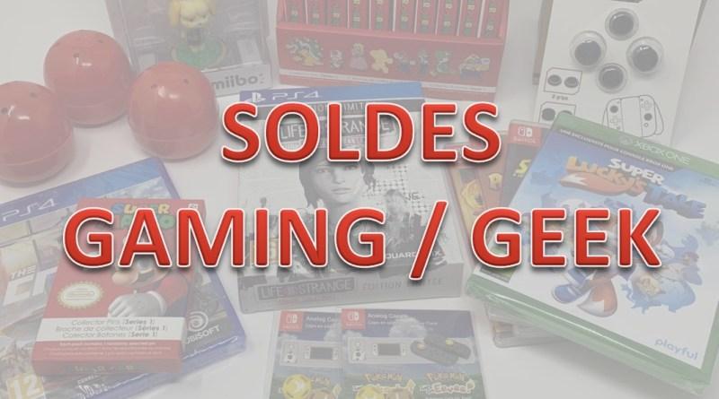 soldes gaming geek 2eme partie - gouaig