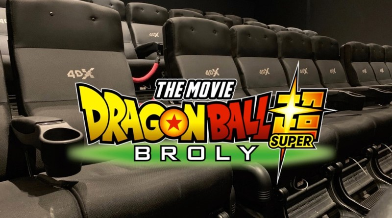 Avis Dragon Ball Super Broly VF et 4DX