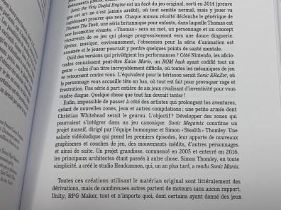 Avis Livre Générations SONIC Third éditions - Gouaig - 15
