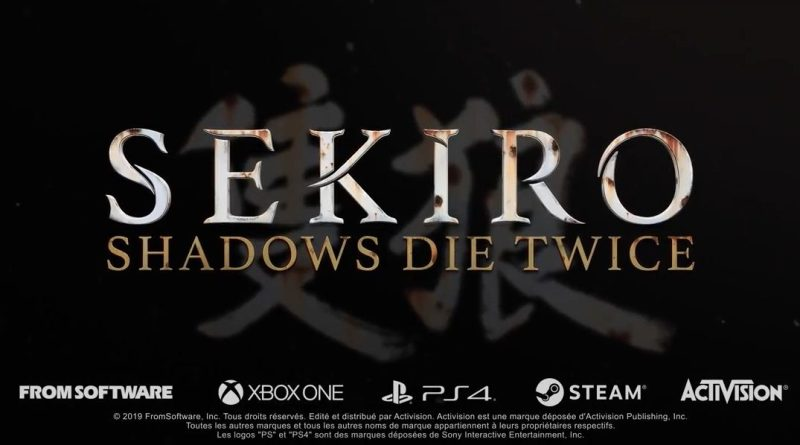 Gameplay Sekiro Shadows Die Twice