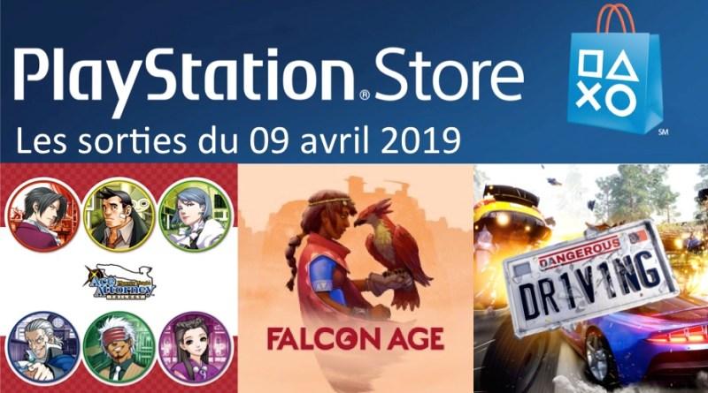 MAJ Playstation Store 09 avril