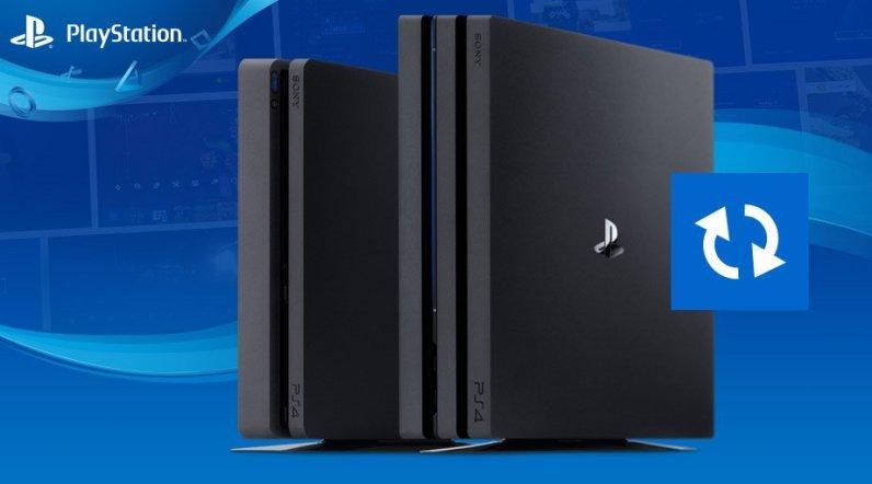 Mise à jour PS4