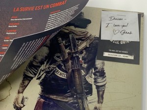 Unboxing Presskit Days Gone PS4