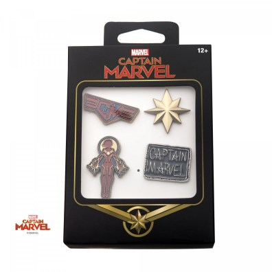 pins captain marvel