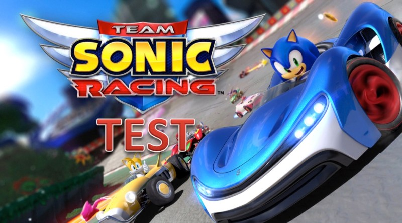 Test team sonic racing - Gouaig