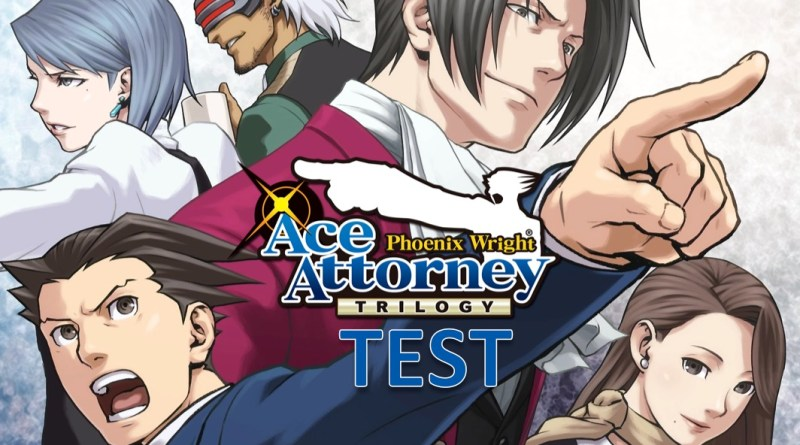 test Phoenix Wright Ace Attorney Trilogy