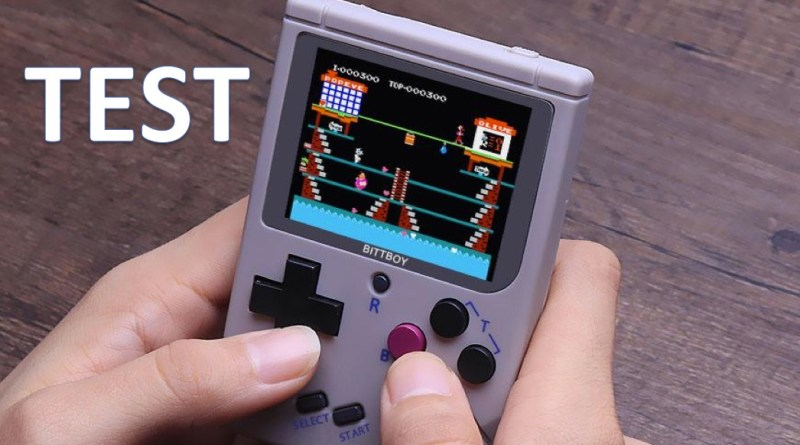 test bittboy retrogaming portable