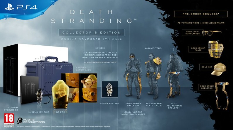 Collector Death Stranding PS4