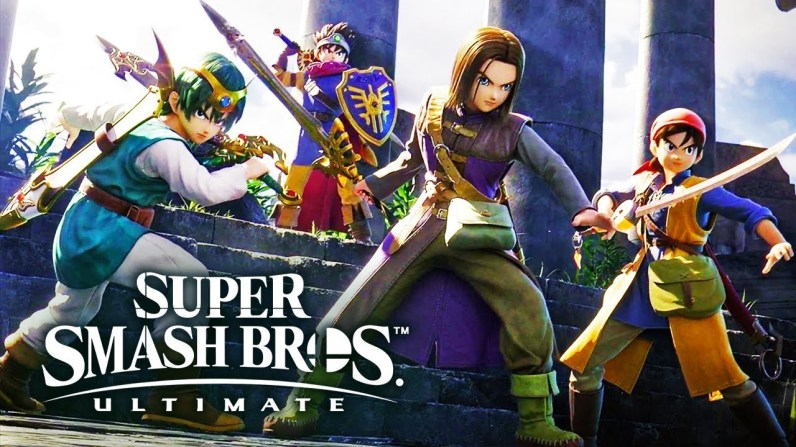 Smash Bros Dragon Quest XI