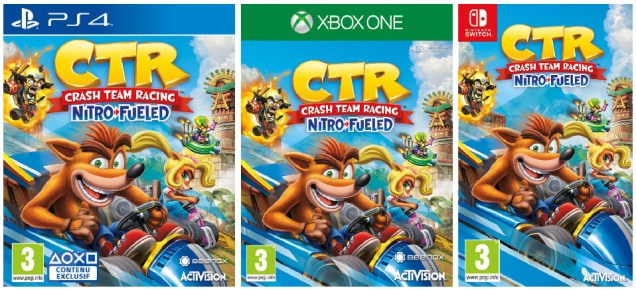test Crash Team Racing Nitro Fueled, avis Crash Team Racing Nitro Fueled, test CTR Nitro Fueled, test CTR, acheter Crash Team Racing Nitro-Fueled, astuce Crash Team Racing Nitro-Fueled, infos Crash Team Racing Nitro-Fueled, vidéo Crash Team Racing Nitro-Fueled