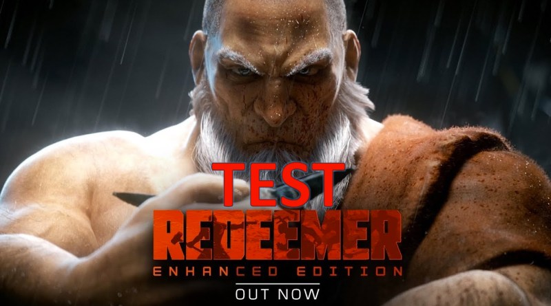 Test Reedemer Enhanced Edition - gouaig