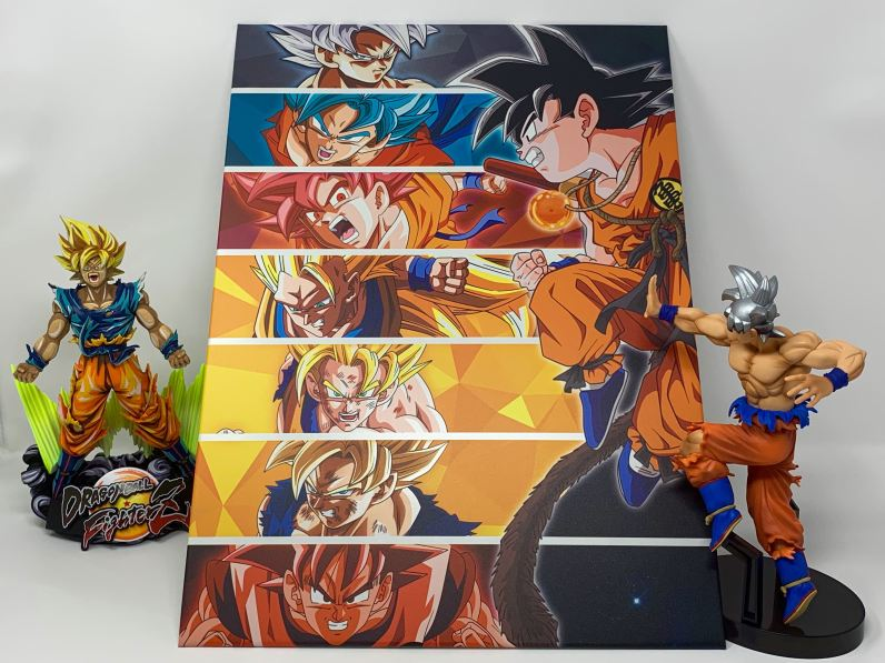 Unboxing Poster me?tallique Dragon Ball