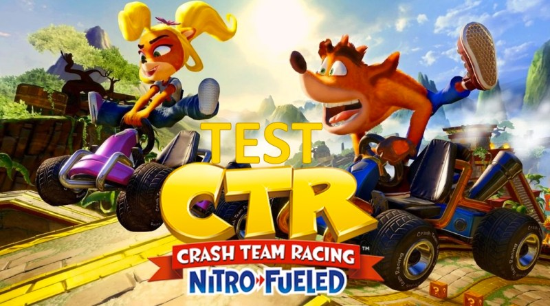 test crash team racing nitro fueled - gouaig