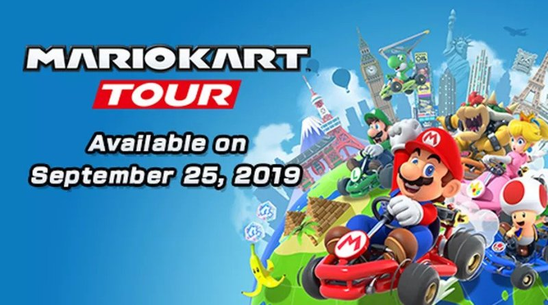 mario kart tour iOS Android iPhone iPad