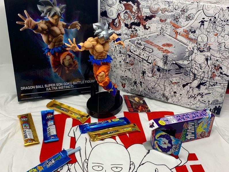 Unboxing Wootbox Azuma la box Manga