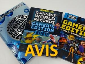 Avis Guinness World Records Gamer's Edition 2020