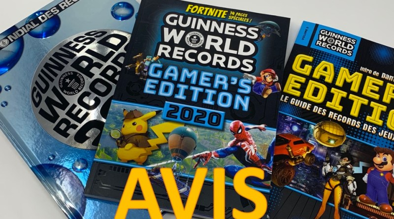 Avis Guinness World Records Gamer's Edition 2020
