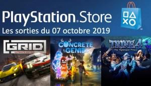 MAJ Playstation Store 07 octobre