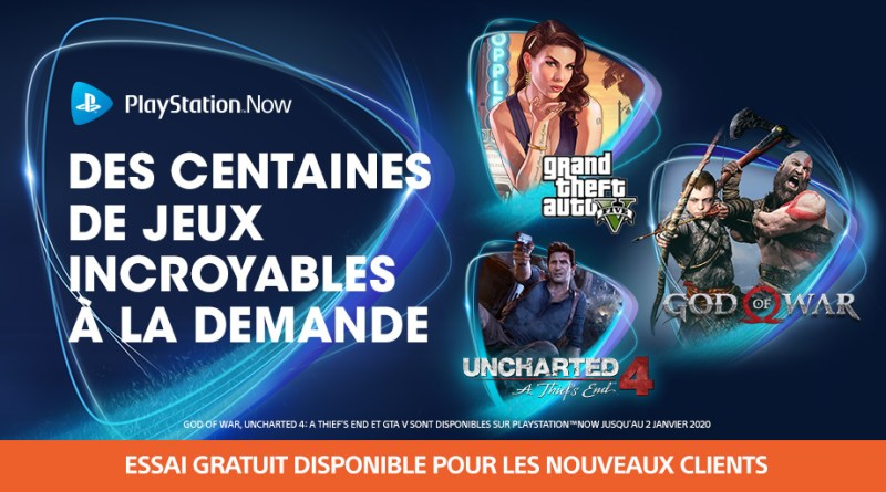 PS Now octobre 2019