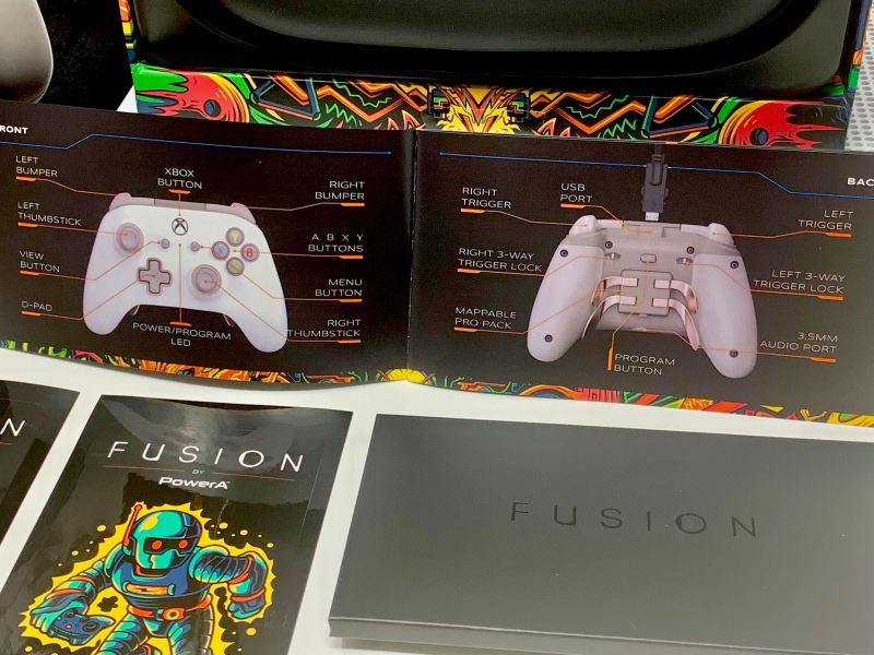 Unboxing FUSION Pro Wired Xbox One