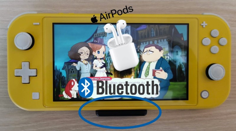 Dongle son sans fil Switch airpods