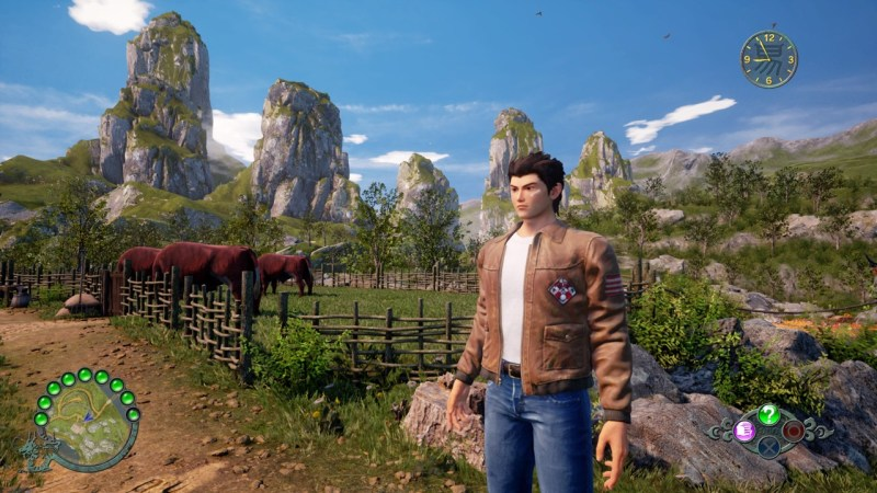 test shenmue 3 PS4 PC