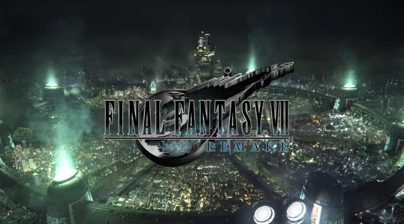 Final Fantasy VII remake cinématique