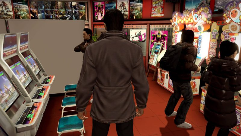 test yakuza 5 remastered